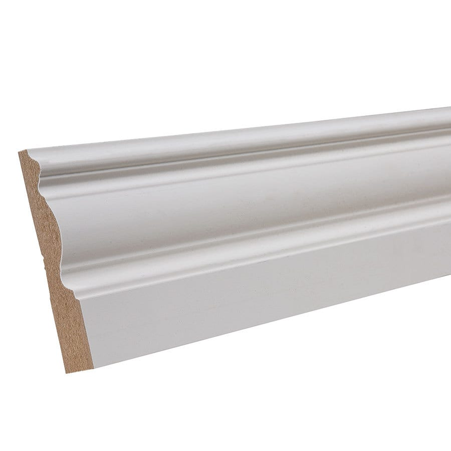 "EverTrue Primed Wood Composite 3322 Base 3 1/4"" x 8' x 5/8"""