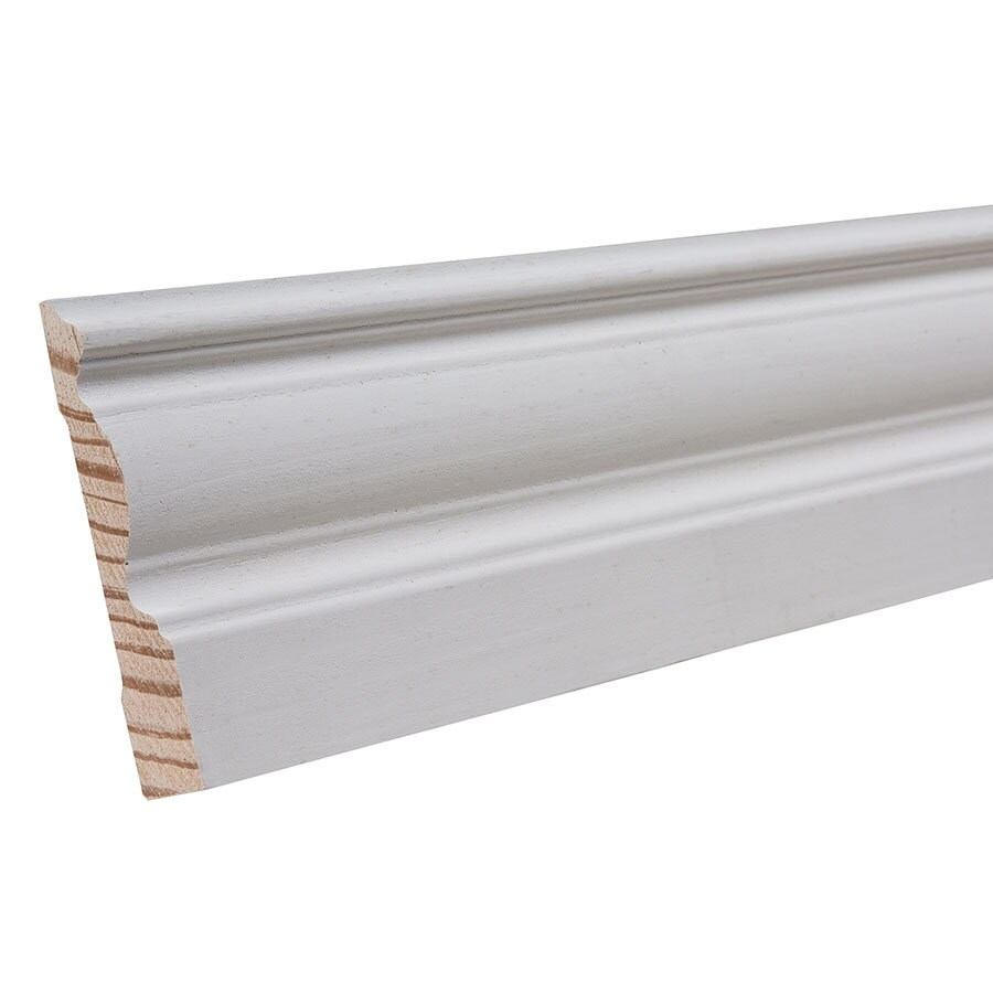 3.25-in x 8-ft Interior Pine Baseboard