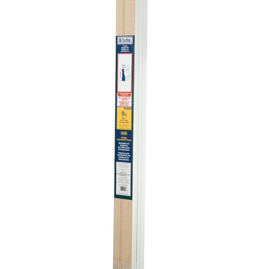 EverTrue 2.25-in x 14-ft Interior Pine Primed PFJ Window and Door Casing
