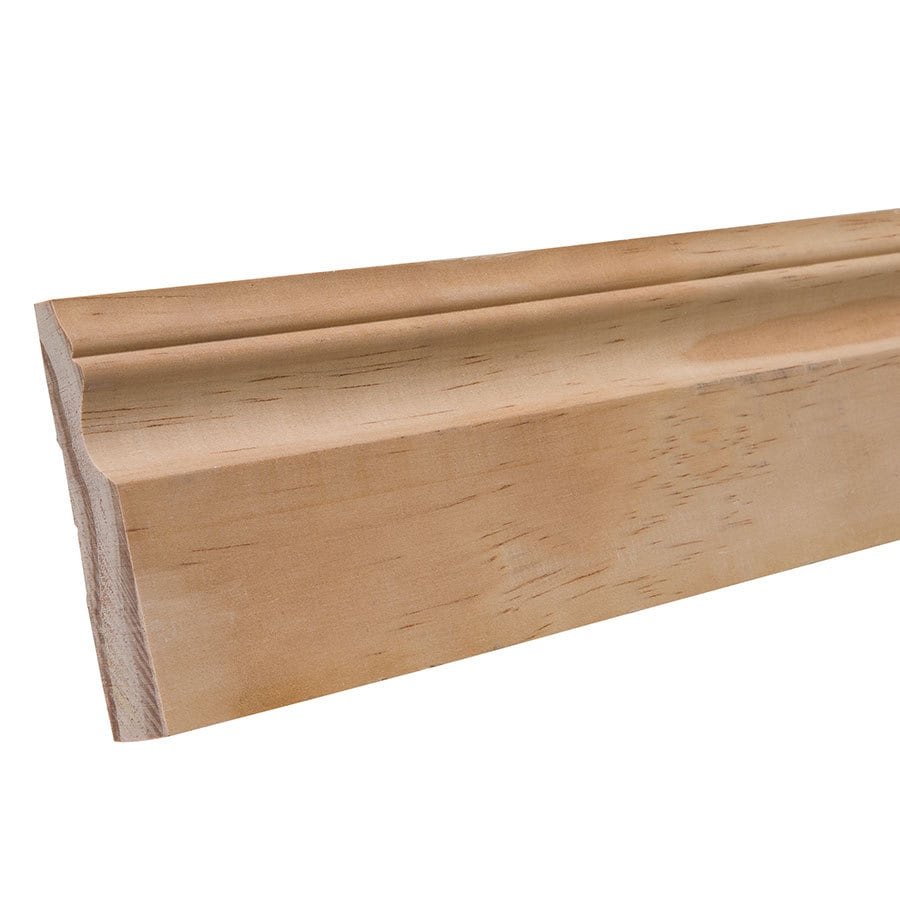 3.25-in x 8-ft Interior Pine Baseboard Moulding