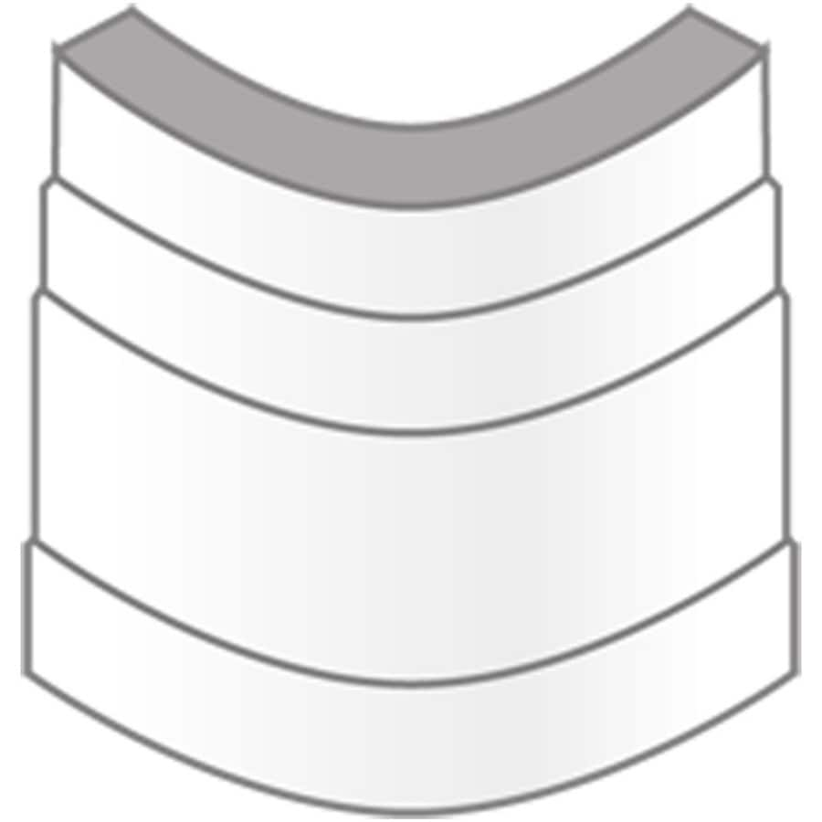 1.6875-in x 2.25-in Interior Pine Radius Corner Baseboard Moulding Block