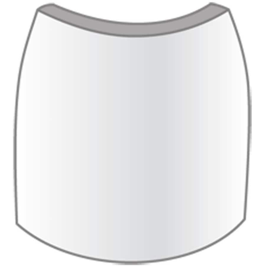 EverTrue 1.5625-in x 2.25-in Interior Pine Wood Radius Corner Baseboard Moulding Block