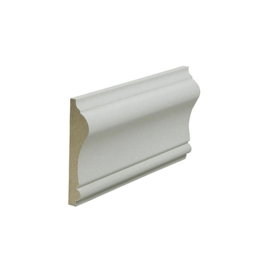 2.625-in X 12-ft Painted MDF Chair Rail Moulding At Lowes.com