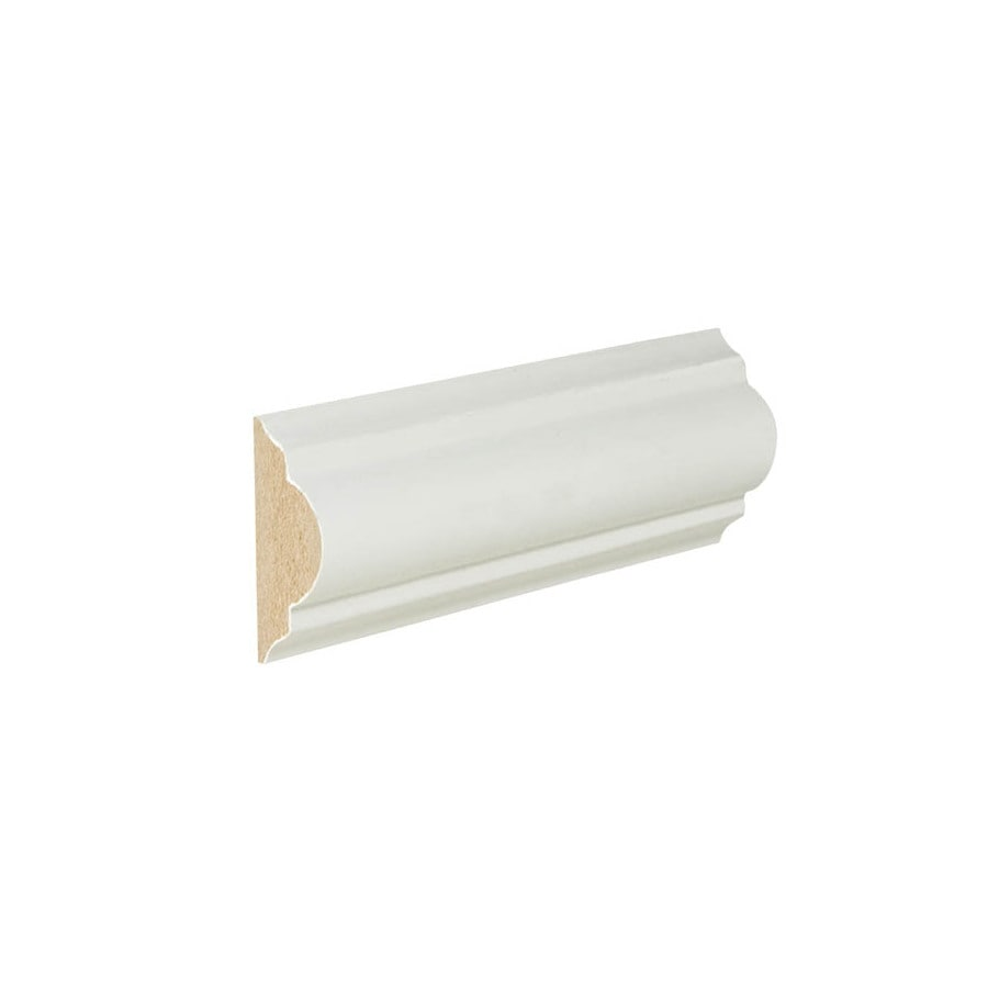 1.625-in X 12-ft Painted MDF Chair Rail Moulding At Lowes.com