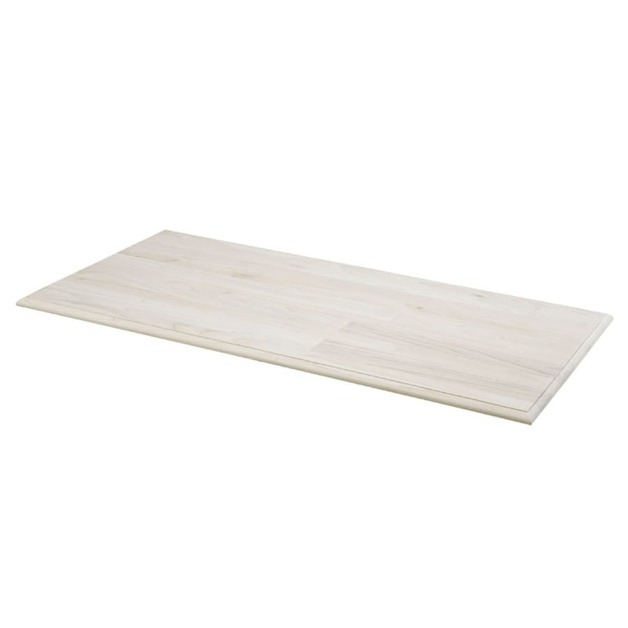 Shop Pine Rectangle Coffee Table Top Actual 1 In X 24 In X 48 In