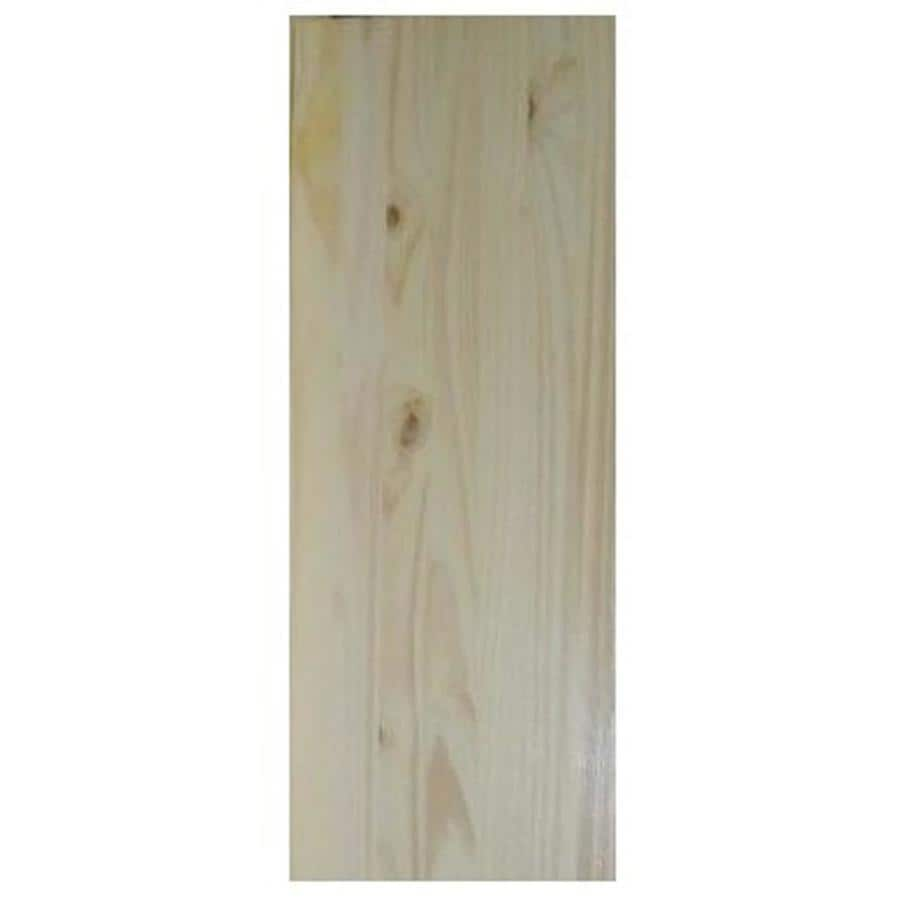 (Common: 3/4-in x 24-in x 3-ft; Actual: 0.62-in x 23.25-in x 3-ft) Spruce Pine Fir Board