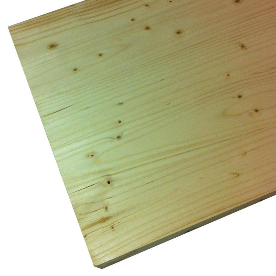 Spruce/Pine-Fir Board (Common: 3/4-in x 24-in x 6-ft; Actual: 0.708-in x 23.97-in x 6-ft)