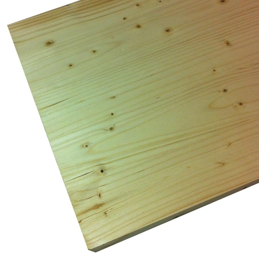 (Common: 1-in x 24-in x 4-ft; Actual: 1-in x 23.25-in x 4-ft) Spruce Pine Fir Board
