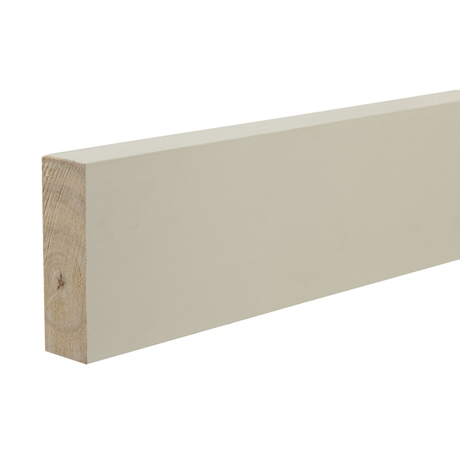 (Common: 1-1/4-in x 4-in x 12-ft; Actual: 1-in x 3.5-in x 12-ft) Primed Pine Board