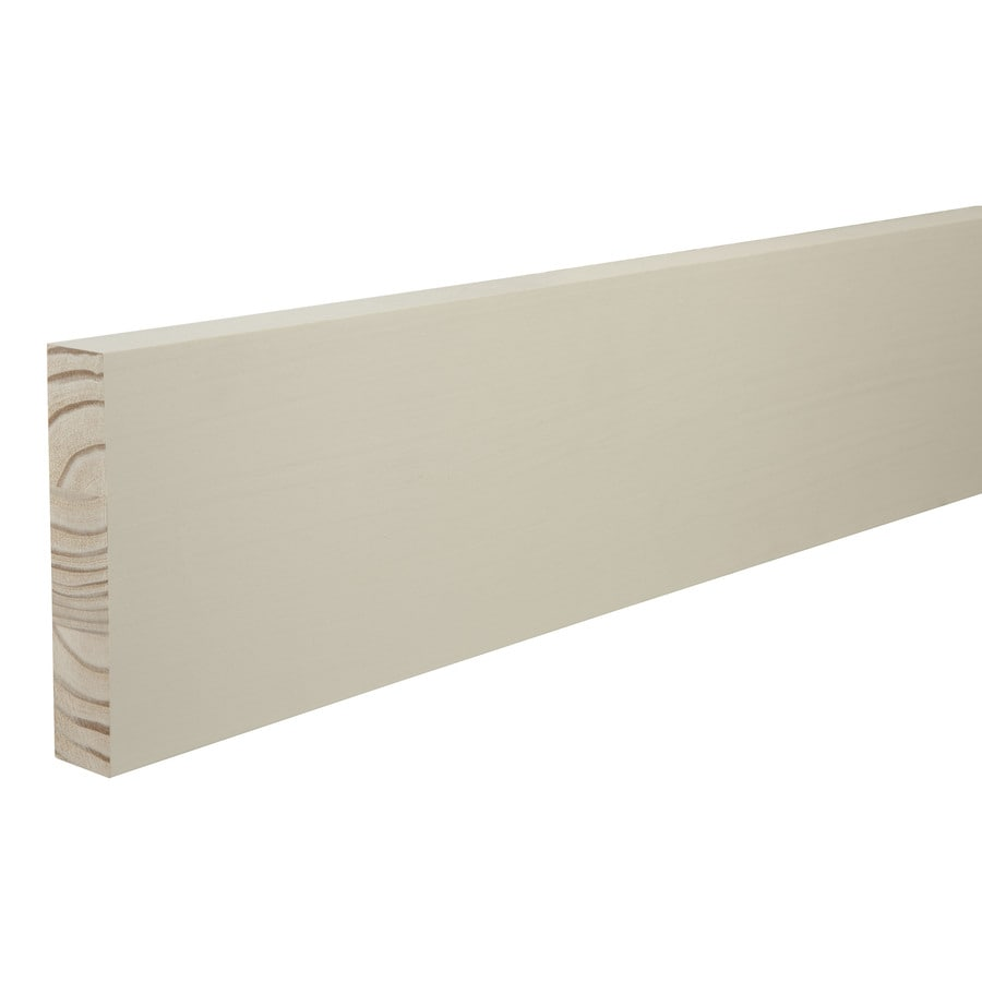 (Common: 1-1/4-in x 6-in x 12-ft; Actual: 1-in x 5.5-in x 12-ft) Primed Pine Board