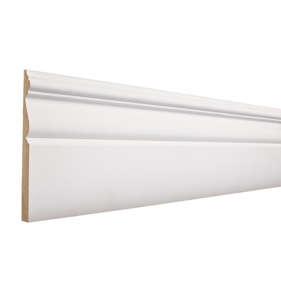 5.25-in x 8-ft Interior Composite Baseboard