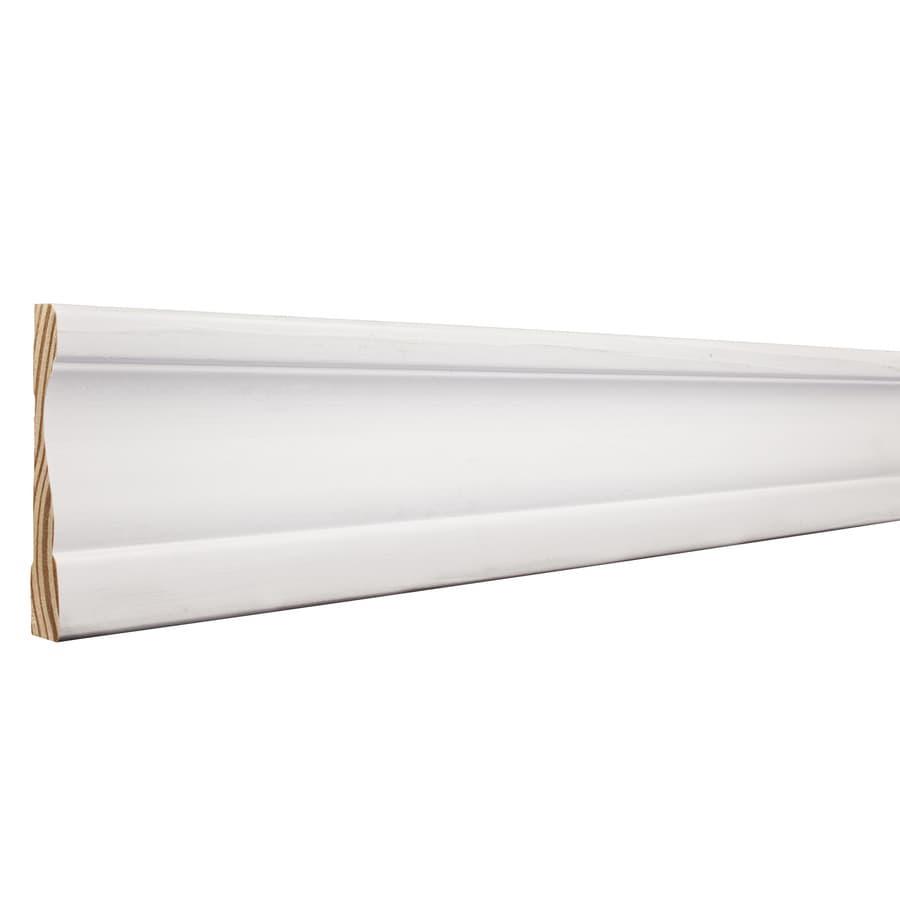 3.5-in x 8-ft Interior Pine Primed Finger Joint Window and Door Casing