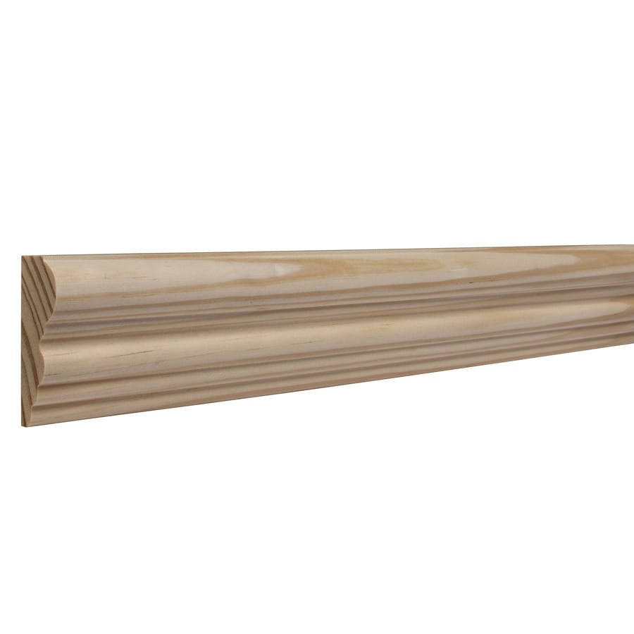 2.125-in X 8-ft Pine Chair Rail Moulding At Lowes.com