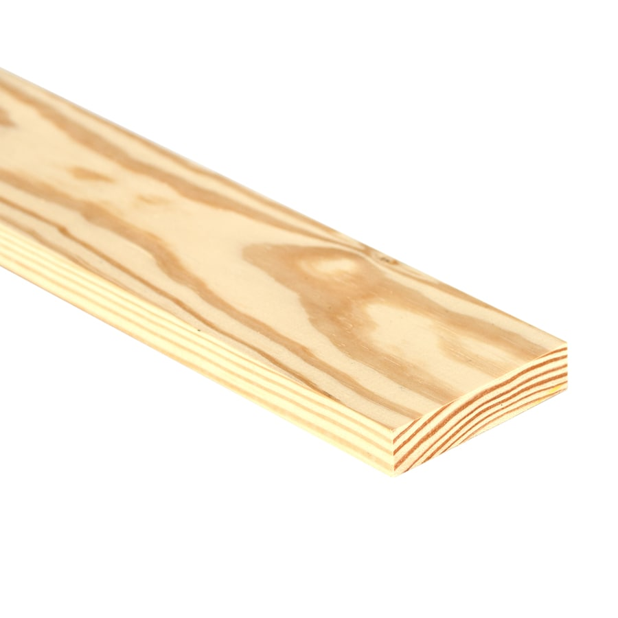 (Common: 1-in x 4-in x 10-ft; Actual: 0.75-in x 3.5-in x 10-ft) Southern Yellow Pine Board