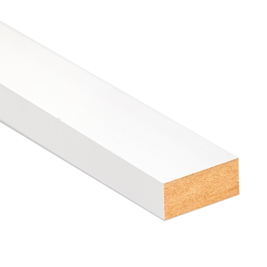 (Actual: 0.6562-in x 1.5-in x 12-ft) Medium-density MDF