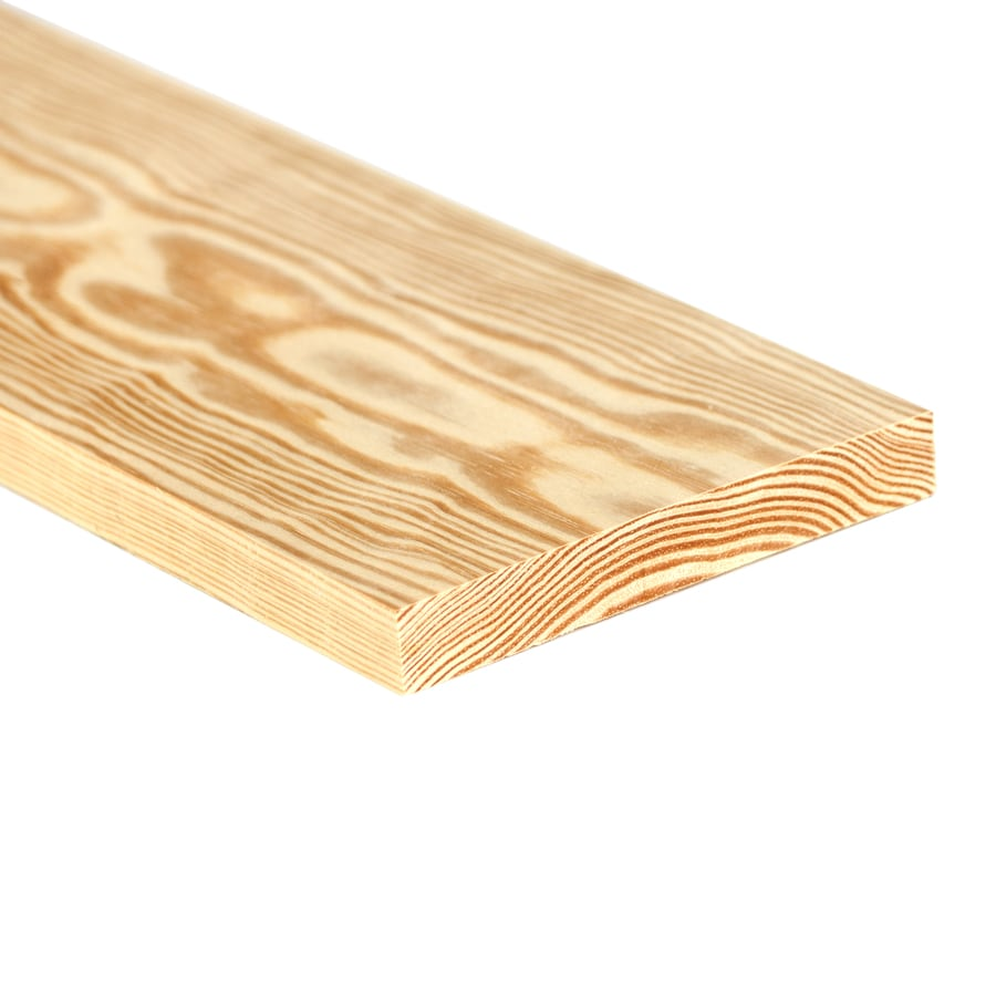(Common: 1-in x 8-in x 10-ft; Actual: 0.75-in x 7.25-in x 10-ft) Southern Yellow Pine Board