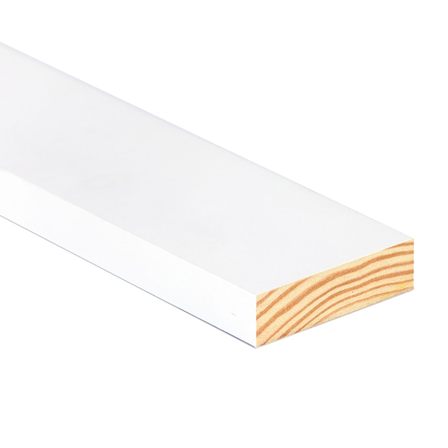 (Common: 1-in x 3-in x 8-ft; Actual: 0.75-in x 2.5-in x 8-ft) Primed Radiatta Pine Board