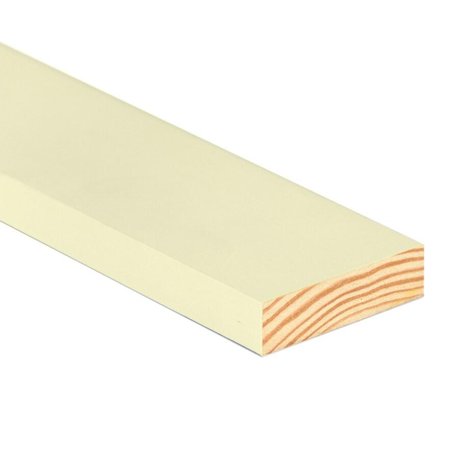 TruTrim (Common: 1-in x 4-in x 12-ft; Actual: 0.75-in x 3.5-in x 12-ft) Primed Pine Board