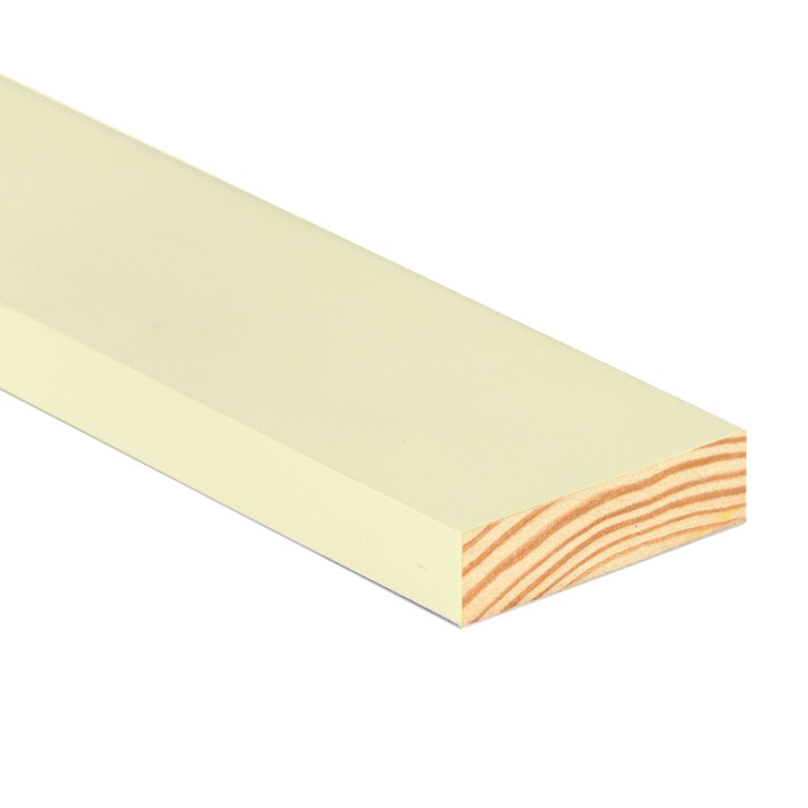 TruTrim (Common: 1-in x 6-in x 12-ft; Actual: 0.75-in x 5.5-in x 12-ft) Primed Pine Board