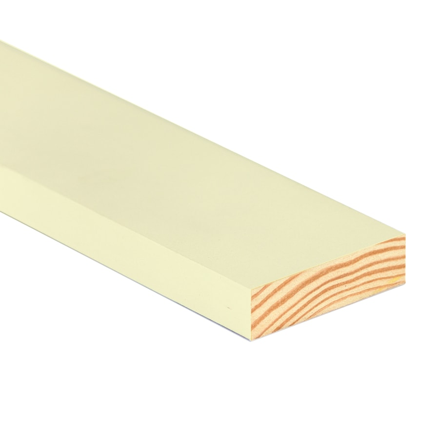 TruTrim (Common: 1-in x 8-in x 12-ft; Actual: 0.75-in x 7.25-in x 12-ft) Primed Pine Board