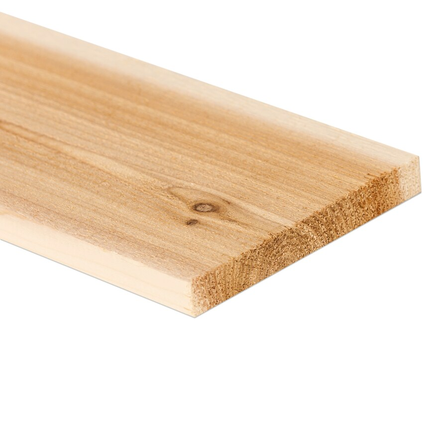 Cedar Board (Common: 1-in x 6-in x 8-ft; Actual: 0.6875-in x 5.5-in x 8-ft)