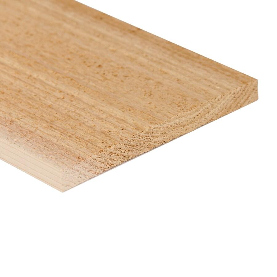 (Common: 1-in x 12-in x 8-ft; Actual: 0.87-in x 11.25-in x 8-ft) Cedar Board