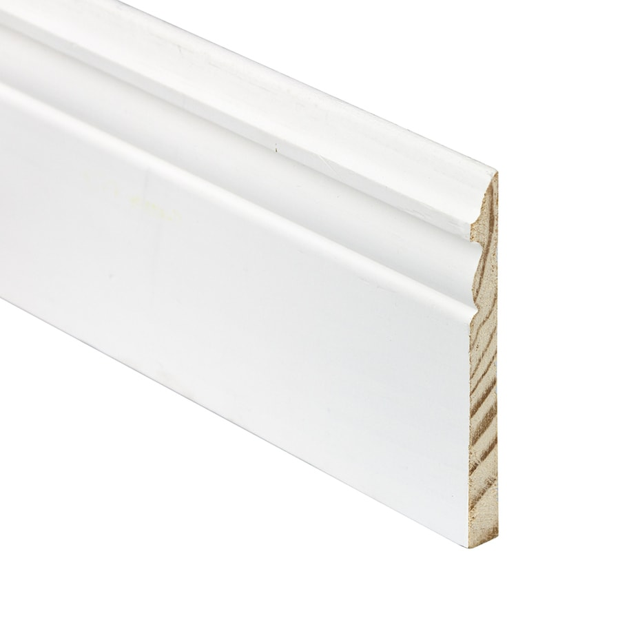 5.25-in x 8-ft Interior Pine Baseboard