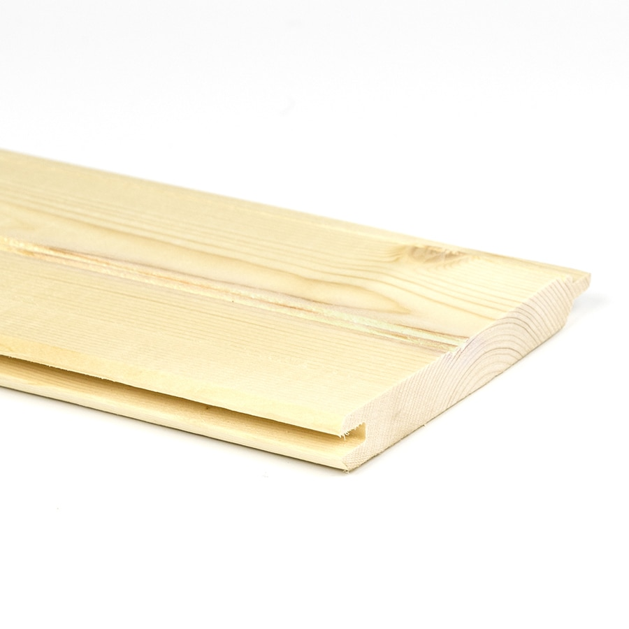 Natural Unfinished Pine: Shop 7.25-in X 12-ft Natural Unfinished Pine Wood Tongue