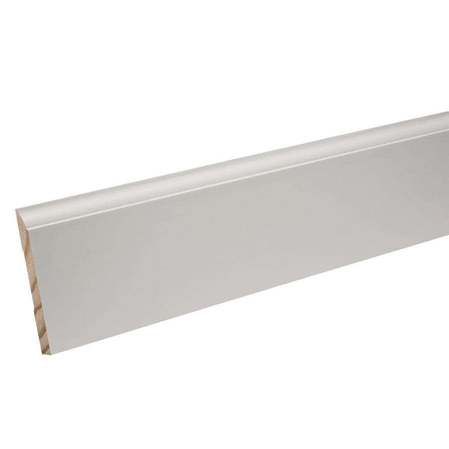 EverTrue 4.25-in x 12-ft Interior Pine Primed Baseboard Moulding