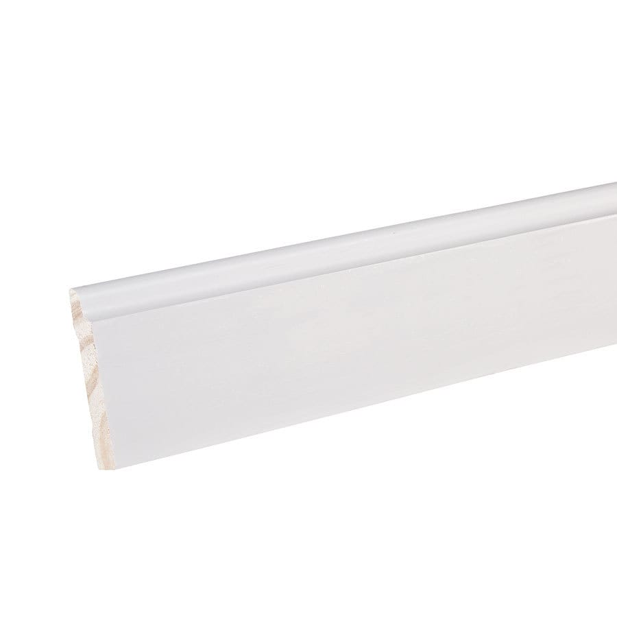 "EverTrue Primed Pine 623 Base 3 1/4"" x 12' x 9/16"""