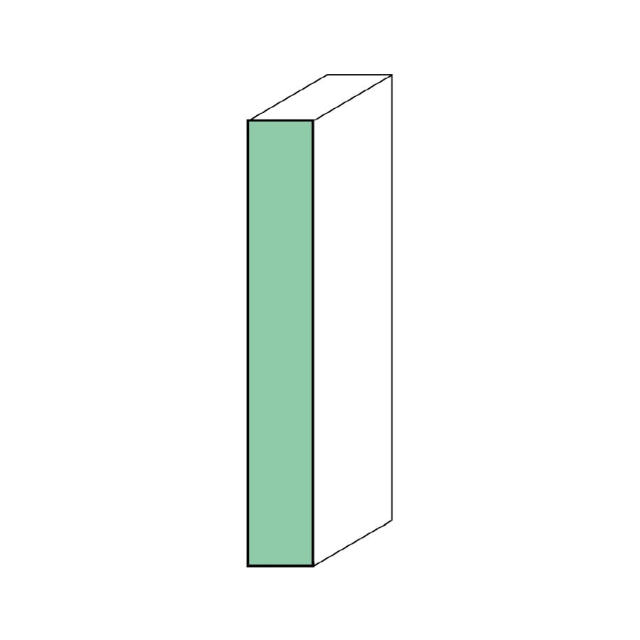 "EverTrue Primed Wood Composite 1x6 S4S 5 1/2"" x 8' x 11/16"""