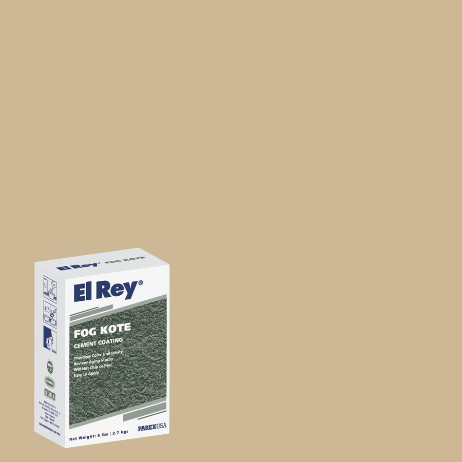 El Rey 6-lb Brown Stucco Color Mix