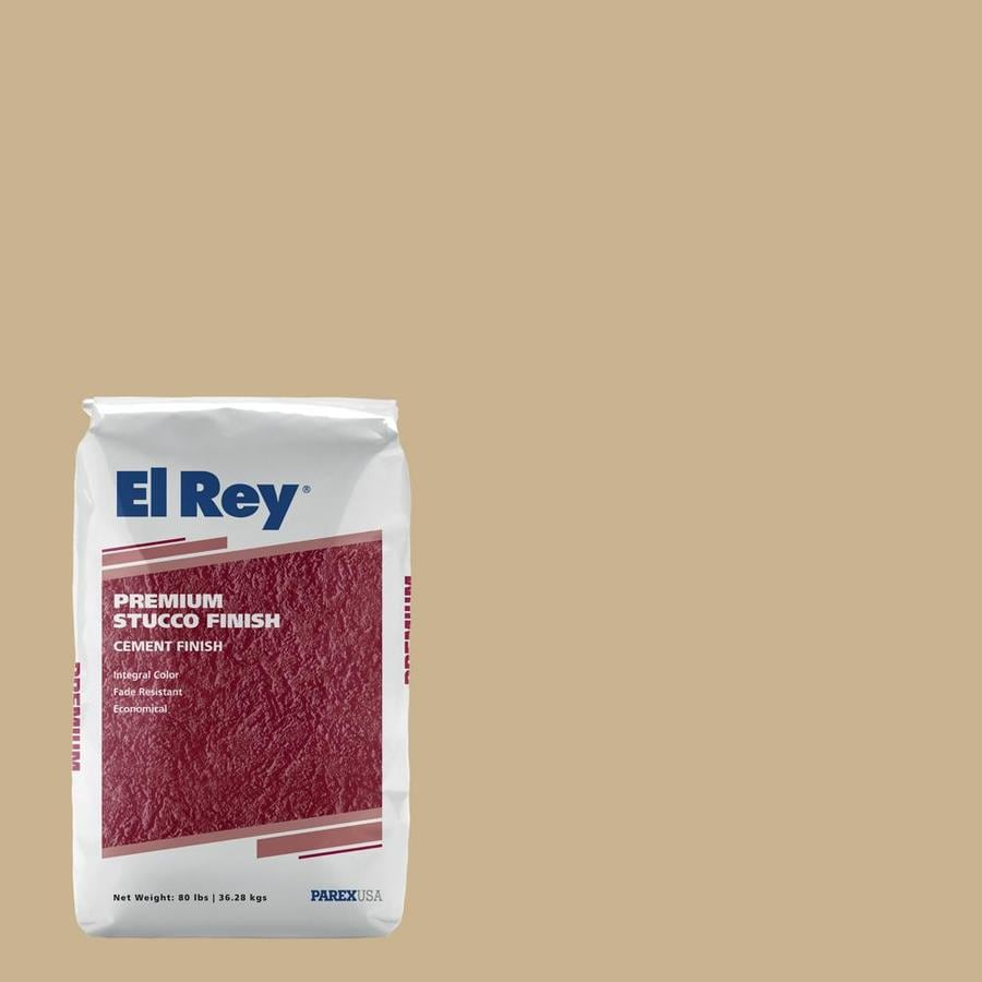 El Rey 80-lb Brown Stucco Color Mix