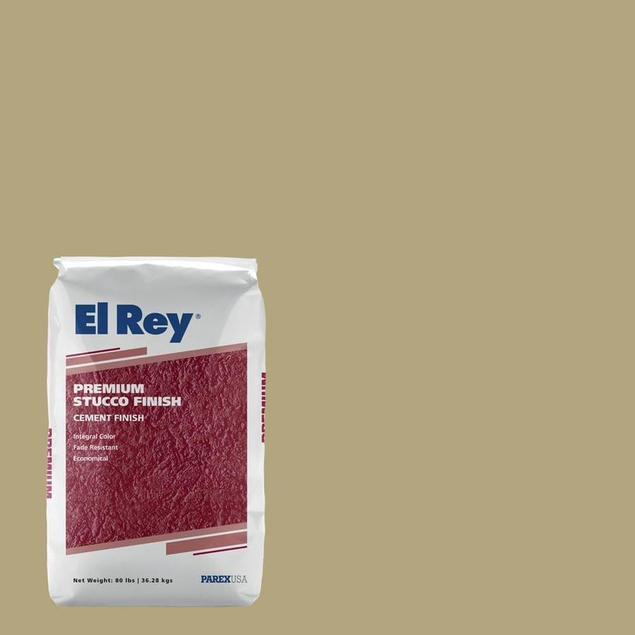 El Rey 80 Lb. Bag Premium Stucco Finish Sahara #135