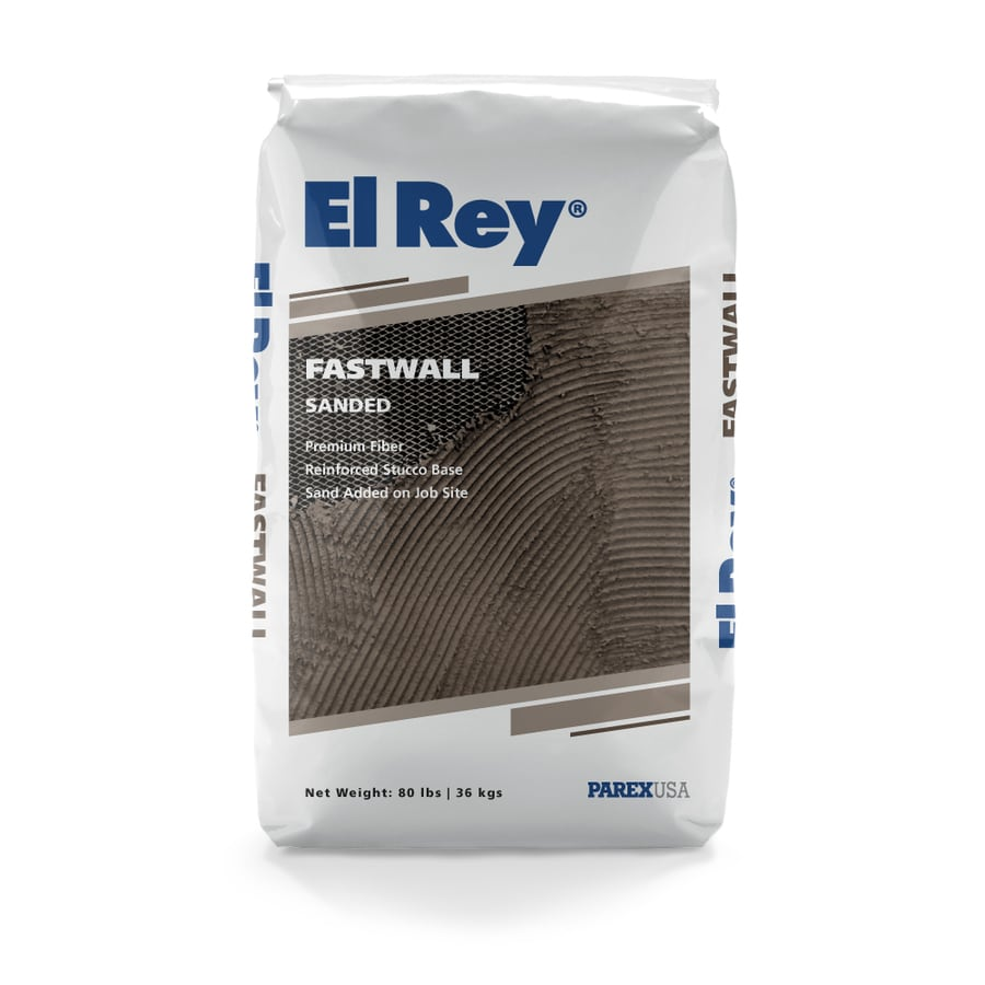 El Rey 80-lb Base Coat Stucco Mix