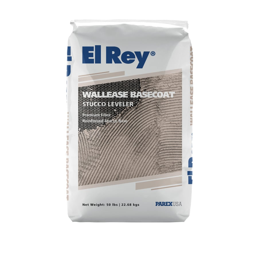 El Rey 50-lb Base Coat Stucco Mix