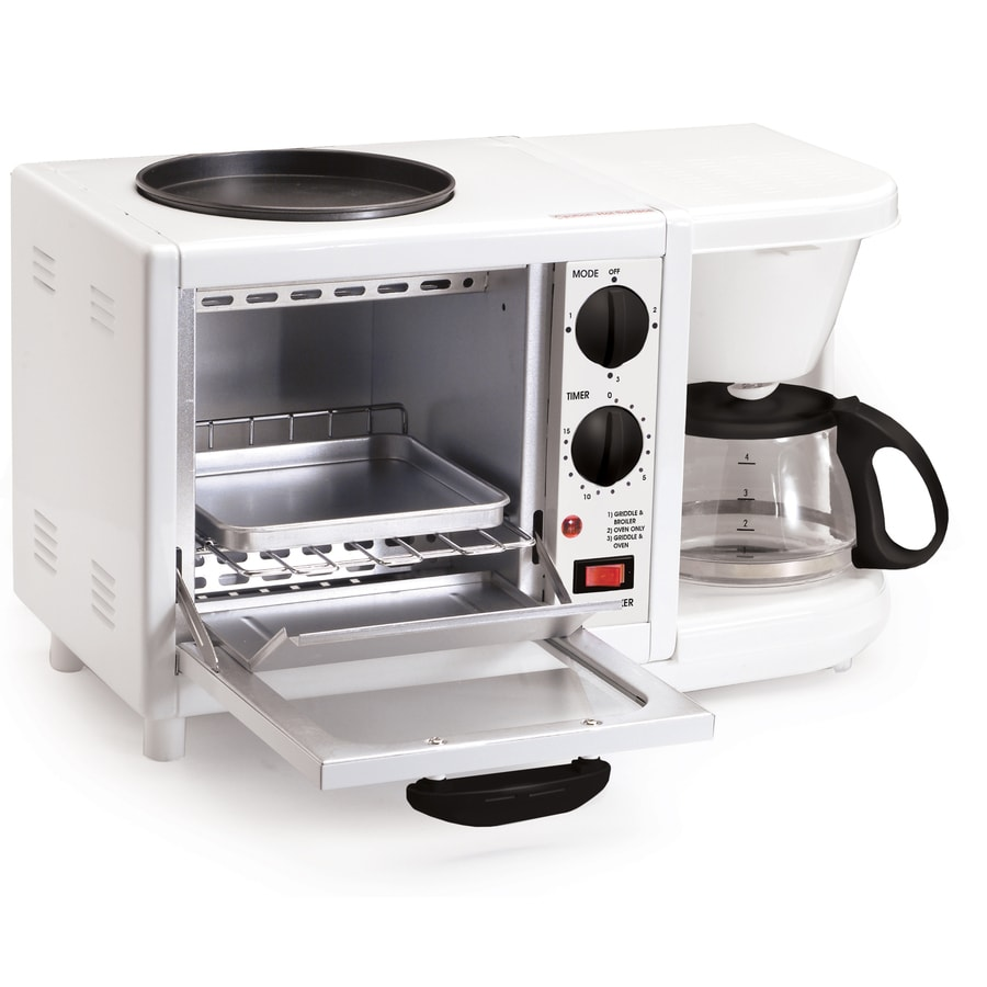 Elite 1-Slice White Toaster Oven