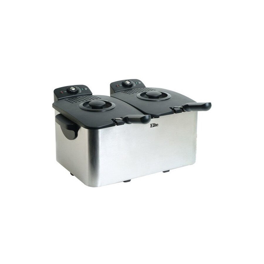 Elite 8-Quart Dual Zone Deep Fryer