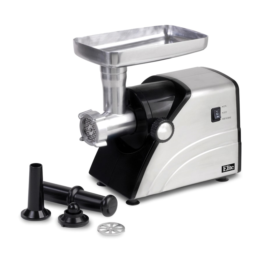 Elite 1-Speed Stainless Steel Electric Meat Grinder