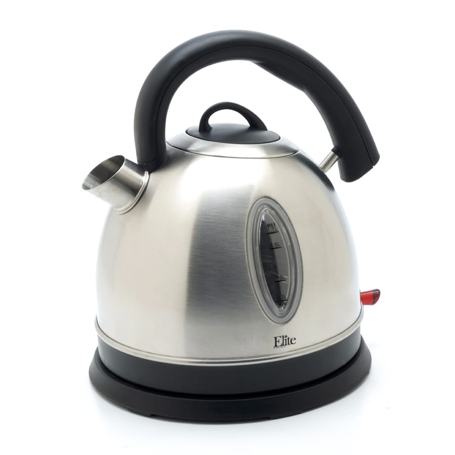 Elite Stainless Steel 7-Cup Electric Tea Kettle