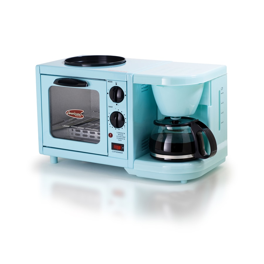 Elite 1-Slice Blue Toaster Oven