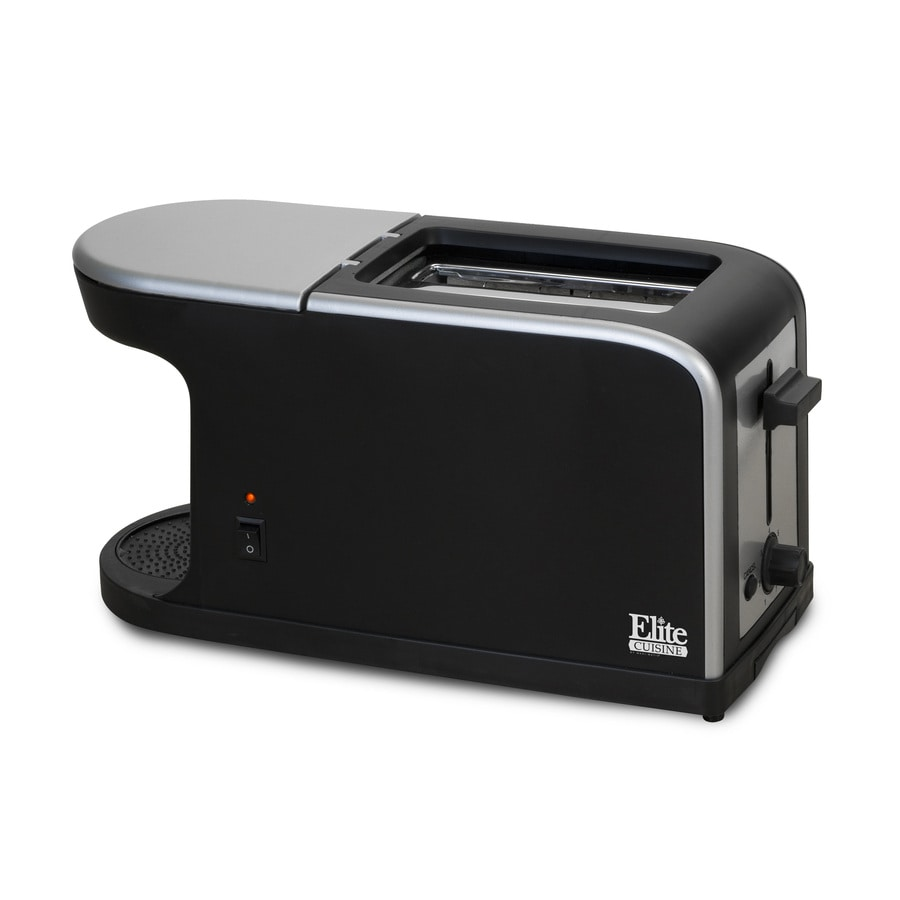 Elite 2-Slice Black Toaster