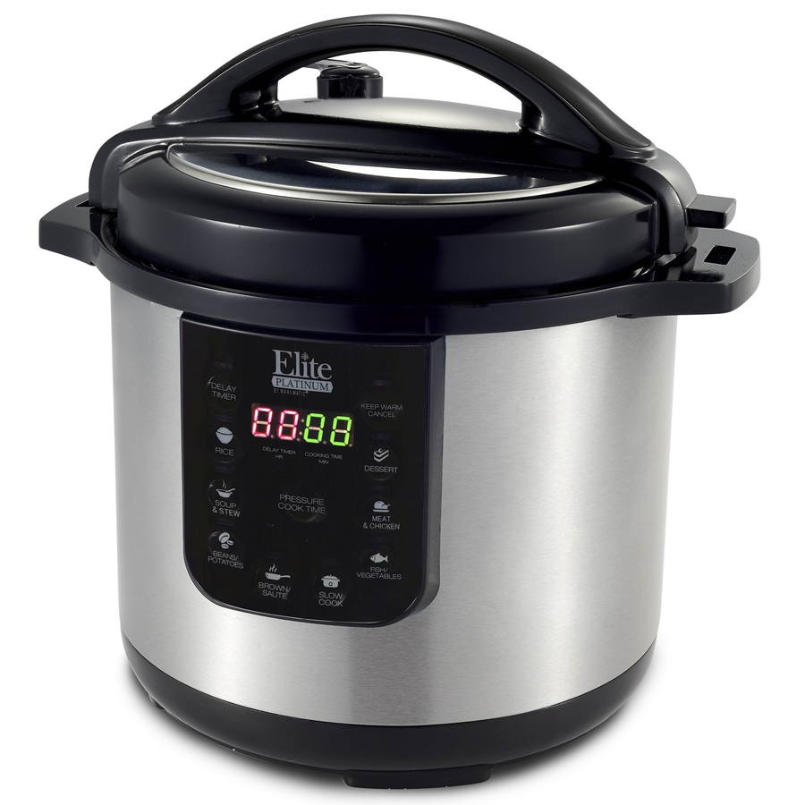 Elite 8-Quart Programmable Electric Pressure Cooker