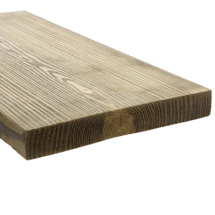 Top Choice (Common: 2-in x 10-in x 10-ft; Actual: 1.5-in x 9.25-in x 10-ft) Pressure Treated Lumber