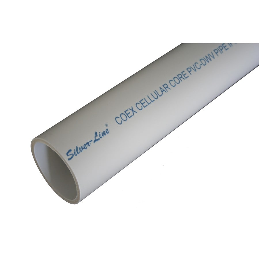 Silver-Line Plastics 1-1/2-in x 10-ft Sch 40 Cellcore PVC DWV Pipe