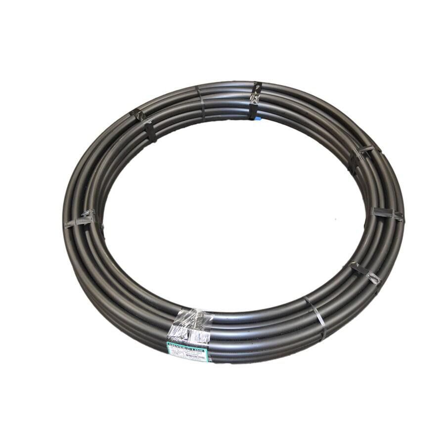 Silver-Line Plastics 1-1/4-in x 100-ft 100-PSI Plastic Coil Pipe