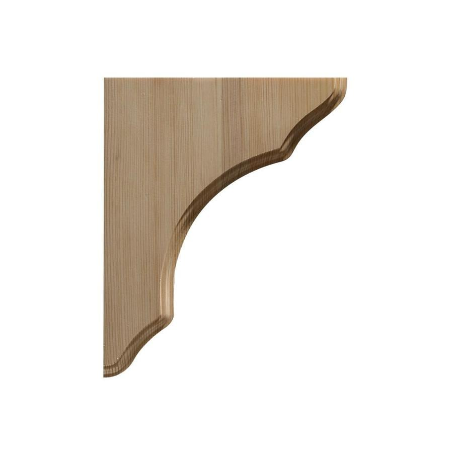 Shop Pine Shelf Bracket at Lowes.com