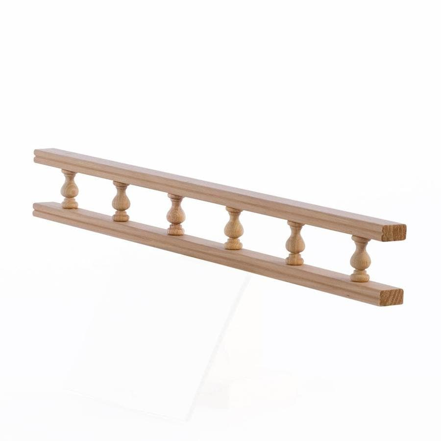 EverTrue 4.1666' Red Oak Galley Rail At Lowes.com