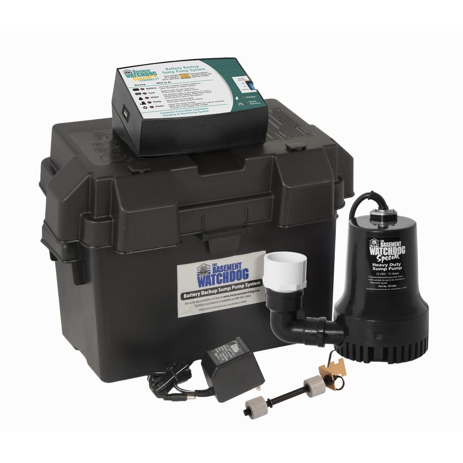 Bat Watchdog 0 33 Hp Plastic Battery Ed Sump Pump