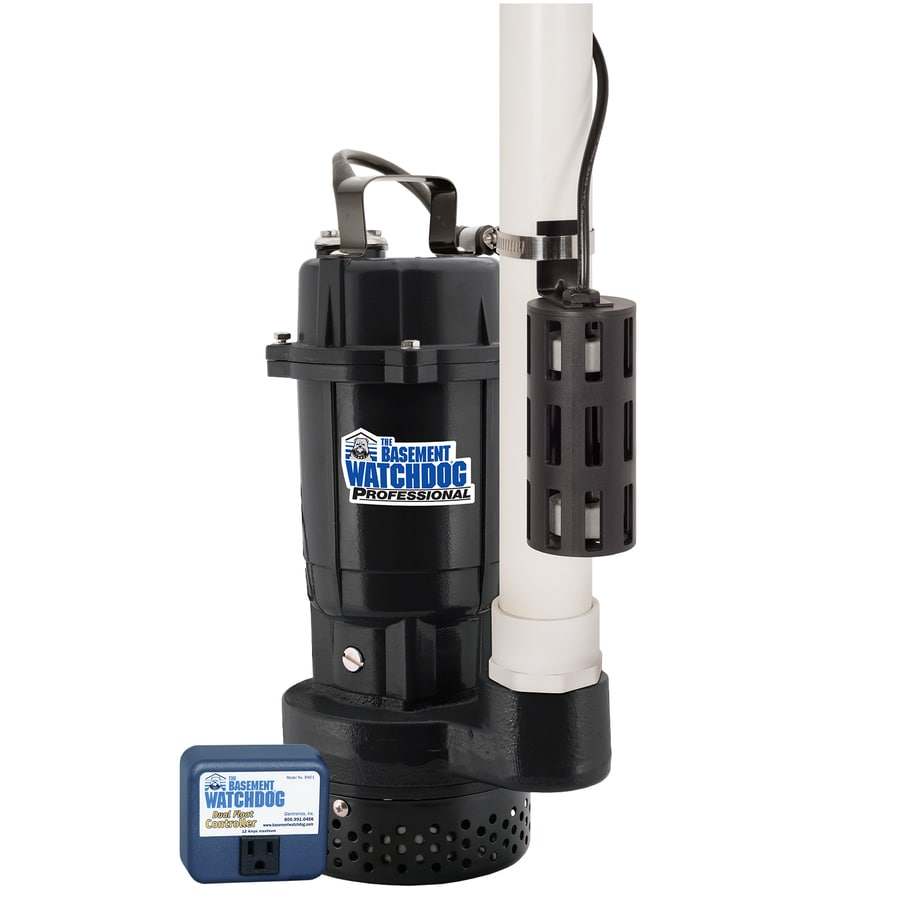 Basement Watchdog 0.5-HP Cast Iron/Cast Aluminum Submersible Sump Pump